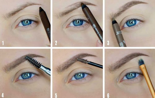 Easy makeup for every day for brown, green, blue eyes. Step by step instructions beautiful make up for beginners.