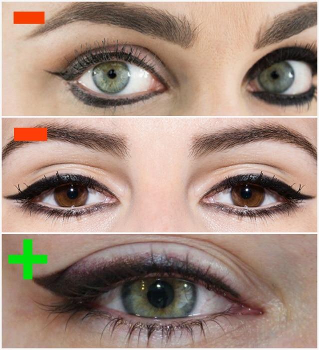 Eyeliner eye.