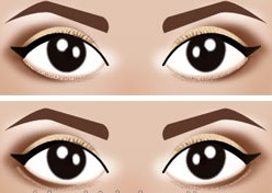 10 make-up secrets to enlarge eyes that are too small