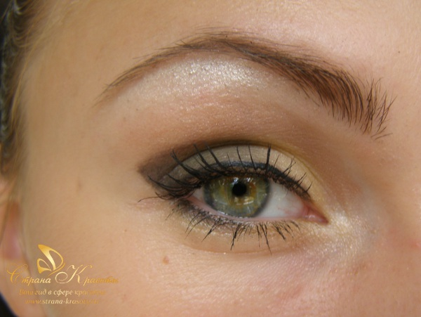 the photos of makeup for green eyes