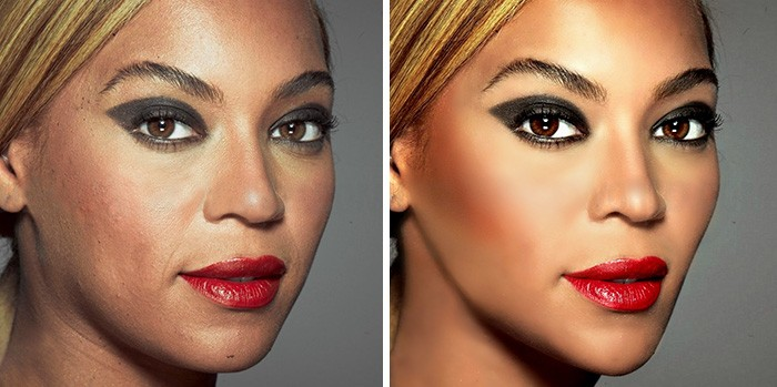 And Beyonce there are spots.