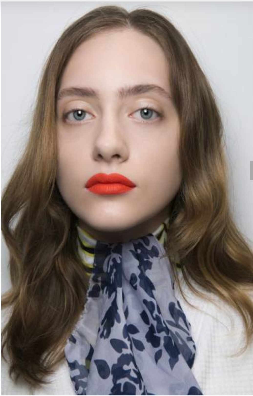 Makeup rules with bright lips