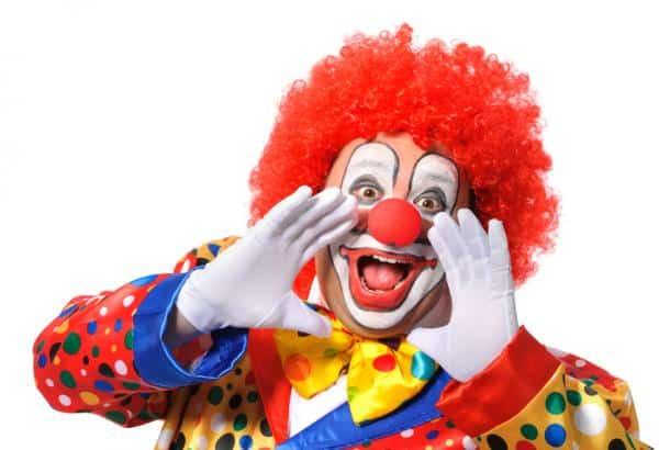 How to do makeup as a clown