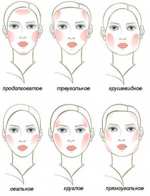 How to apply makeup on the face