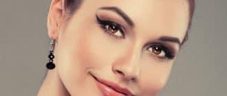 Рельефный макияж
