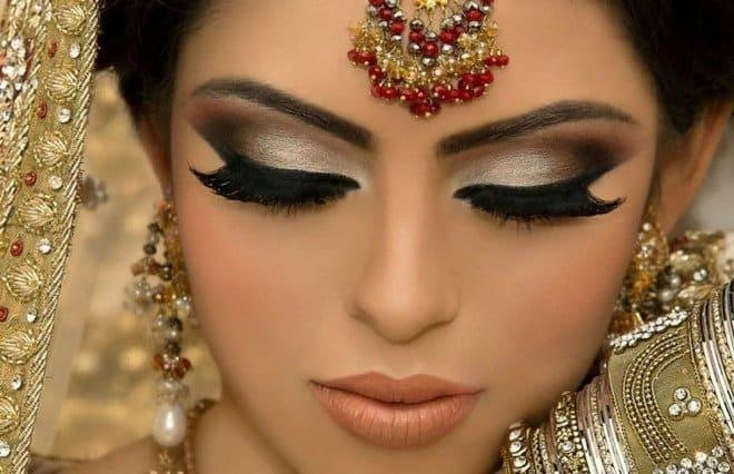 Индийский макияж 1