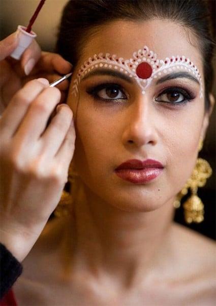 Индийский макияж 2