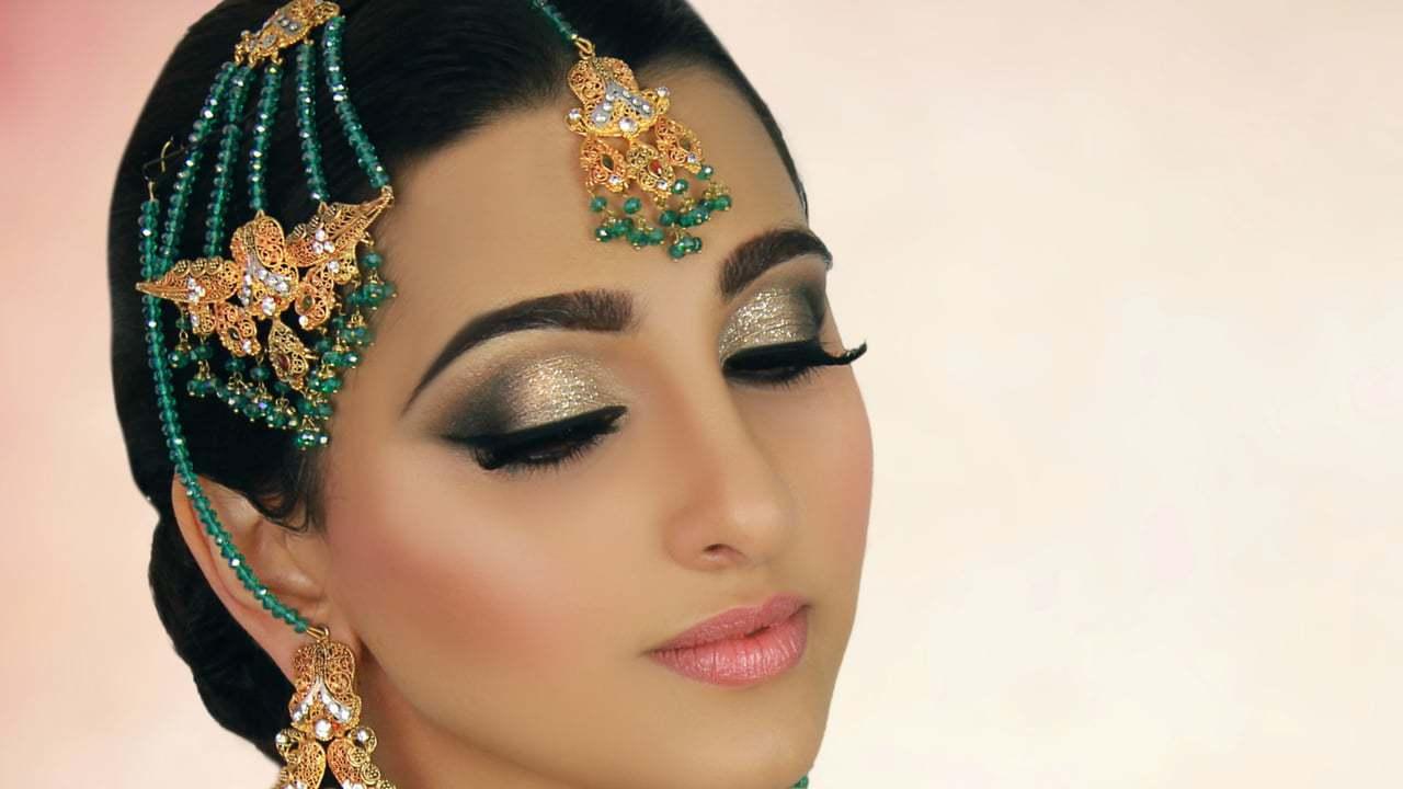 Индийский макияж 3