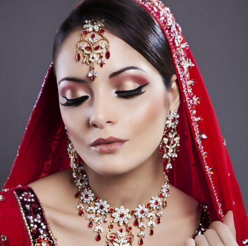 Индийский макияж 4
